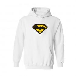 2016 Dongkuan Superman and Batman 4XL hooded hoodie Super Saiyan men's hoodies and sweatshirts people street style xxs