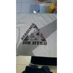 2017 Jiu Jitsu Cotton T shirt Men Summer Short Sleeve T-shirt O Neck  Cotton Tops Tee Fitness MMA Clothing,GT037