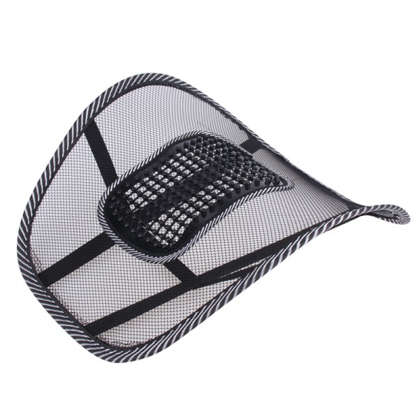 Car Seat Cover Comfort Massage Cushion Lumbar Support For Office Chair Back Waist Brace Pad