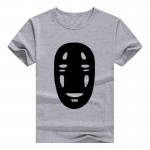 T-shirts for Women Spirited Away No Face Man Harajuku Funny Product Tops&Tees Cotton  Female T-shirt Camisas Femininas 2017