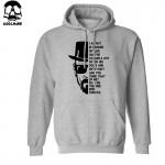 Top quality Breaking bad print men sweatshirt with hat 2016 heisenberg print cotton blend men hoodies H01