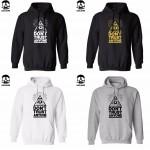cotton blend do not trust anyone men Hoodies with hat fleece casual loose hoodie men VOVXO sweatshirt 2016 H01