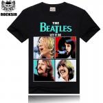 100% Cotton Brand New Men T Shirt Beatles Anime Print Tshirt Man O Neck Tee Shirts Mens Tops Plus Size 3XL Women tshirt