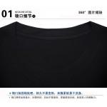 100% Cotton Tee Print Shirts Guns N Roses Led Zeppelin The Beatles T Shirt Men 3D Black Friday Short Sleeve Hip Hop Tshirt Homme