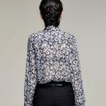 100% Silk Chiffon Shirt Pure Silk Chiffon Blouses Women Shirts Office Lady Shirts Wholesale Free Shipping