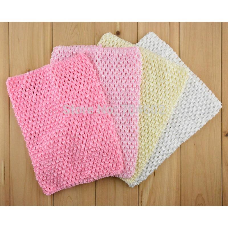 10pcslot 20cm X 23cm Girl 9 Inch Crochet Tutu Tube Tops Chest Wrap