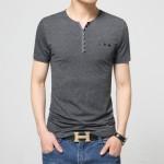 17 Designs Mens T Shirt Slim Fit Crew Neck T-shirt Men Short Sleeve Shirt Casual tshirt Tee Tops 2016 Short Shirt Size M-5XL