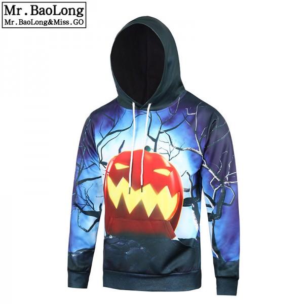 17 StylesNew Arrival 3D Pumkpin Print Women/Men Halloween Hoodies Autumn Funny Pullover hooded Sweatshirt For Men Plus Size XXXL