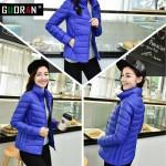 18 colours  Down Parka 2016 Famous Brand Designer Winter Jacket Women 90% White Duck Down Jacket Outwear Ultralight  Thin Coat