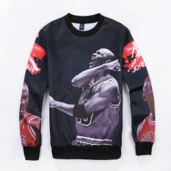 2015 NEW Fashion long sleeve hoodies men's printed Jordan sweatshirt men loose pullover for man/unisex felpe 3d uomo,ZA099