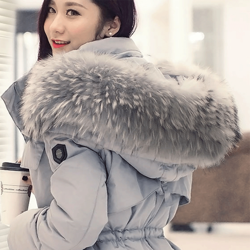 2499346d77a New Fashion Women Winter Duck Down Jacket Plus Size Cape Long Stitching  Ladies. Puffer Coat Plus Size Solid Graphikworks Co