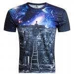 2016 British Style T shirt Men Summer Mens Fashion 3D Printed Toys Tshirt Casual Short Sleeve O-neck T-shirt Men Tee Shirts 4XL