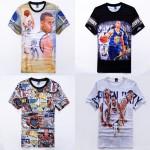 2016 Cool stephen curry print 3D T-shirt for men boy cotton jersey tee shirt steph 30 casual tshirts short sleeve tops