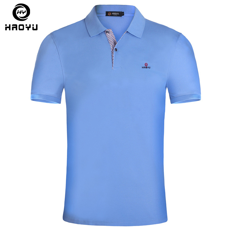 2016 men polo shirt brand clothing solid polo shirt camisa for Branded polo t shirts