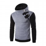 2016 New Arrival Brand-Clothing Autumn Hoodie Sweatshirt Men Fashion Solid Color Hoodies Men Casual Men Sweatshirt Size M-2XL