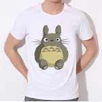 2016 New Arrival Men T Shirt Totoro Men Digimon Funny Graphic Design Printed Fashion Top Tee Casual T-shirts 34N-12#