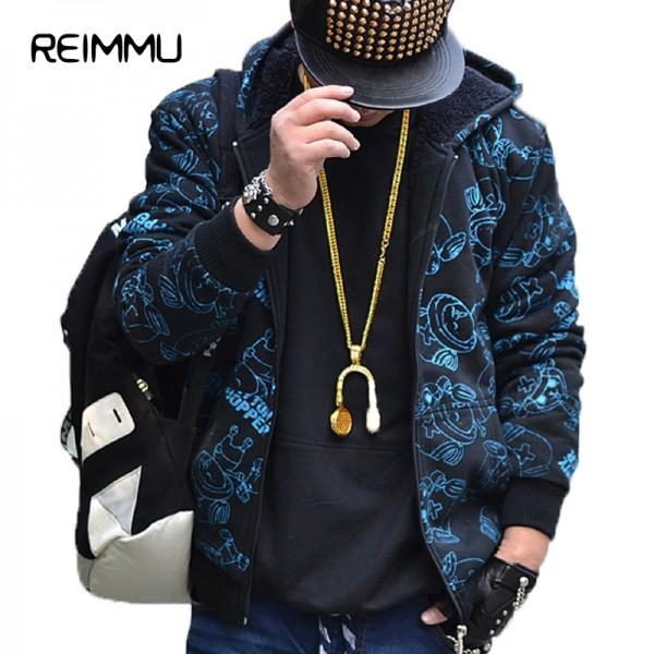 2016 New Arrival Winter Style Mens Hoodie Sweatshirt Warm Thick Style Hoodies Men Oversized 5XL Fleece Printed Hoodies Hot Sale