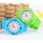 2016 New Skmei Children Watch Fashion Casual Quartz Watches Waterproof Jelly Kids Clock boys Hours Students Dress Wristwatches