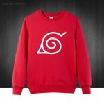 2016 Uzumaki Naruto Cartoon Printed Mens Men Cotton Casual Sweatshirts For men Plus Size Pullover Hoodies Free Shipping