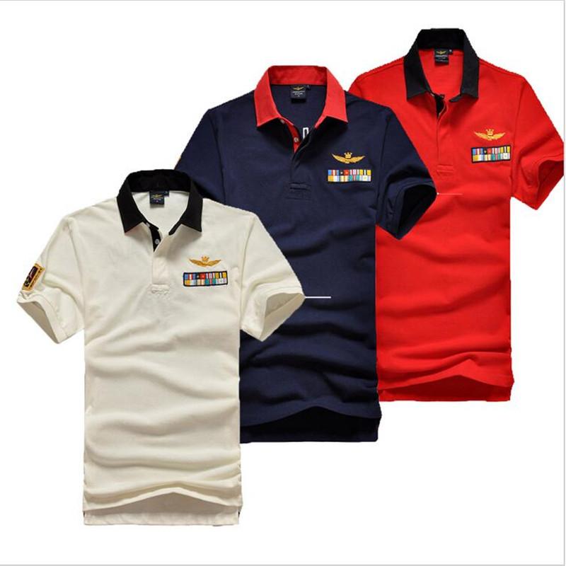 2016 aeronautica militare camisa masculina polo mens shirt for High quality mens shirts