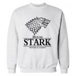 2016 autumn winter style man hoodies Game of Thrones Mens Sweatshirts Winter Is Coming printed fleece hooded hip hop streetwear