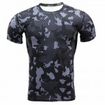 2017 Base Layer Camouflage T Shirt Fitness Tights Quick Dry Shirts Tops & Tees Crossfit Compression Shirt Brand Clothing