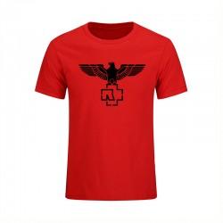 2017 Fashion Cotton Short Sleeved Hip-Hop Printed Rammstein Rock Band Men Crewneck T-Shirt Big Size Mens Sporting Suits