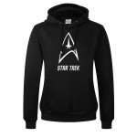 2017 Fashion Star Trek Print Thick Sweatshirt For Men 550GM2 Candy Color Cartoon movie Print Fleece Hoodies Mens Pullover