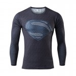 2017 Long Sleeve New Spring Men T-shirt 3D Printed Hero Compression O-Neck Male Brand Clothes Fitness Tight Lycra Shirt Homme
