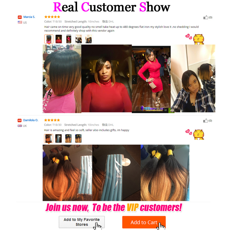 2017 New Silky Straight Brazilian Virgin Hair Weave Ombre 1b30 27 2