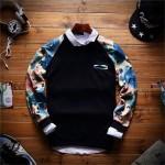 2017 New Arrival Spring Brand Pullover Hoodies Men O-Neck Men Pullovers Printed Hoodie Sweatshirt Slim Men Hoodies Size M-2XL