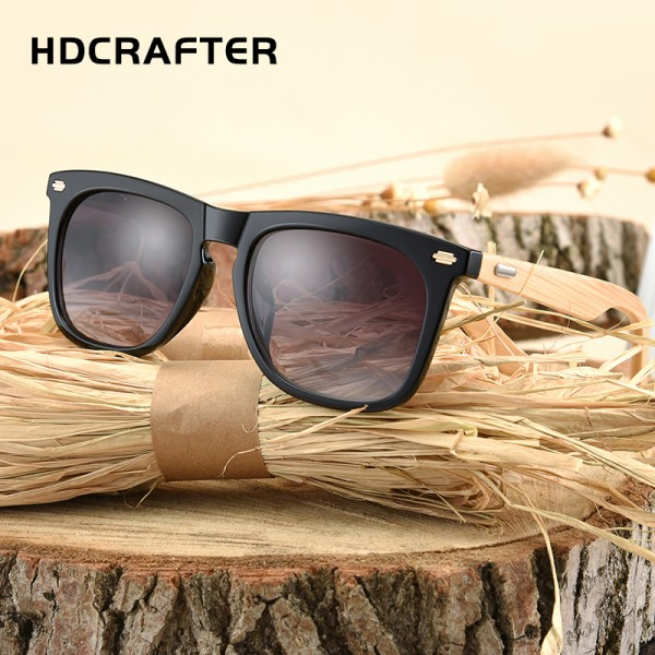 2017 New Bamboo Sunglasses Men Wooden Sun glasses Brand Designer Women Glasses Plastic UV400 Eyewear Oculos de sol masculino