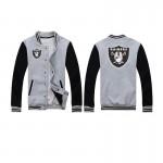 2017 New Fashion Men Fashion Fleece Jacket Unisex Raiders Baseball Jacket Couple Style Hip Hop Sweatshirt Brand Clothing