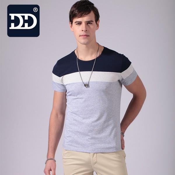 2017 New Summer Fashion Men's T Shirt Casual Patchwork Short Sleeve Mens tshirt Clothing Casual Shirts Print Regular Shirt Men