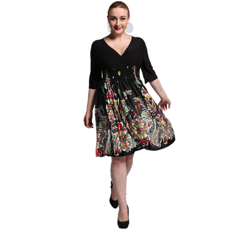 2017 New Women Summer Boho Dress Ladies Vestidos Largos Robe ...