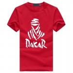 2017 Summer Fashion Dakar letters print Tshirt homme Persopnalized Cotton hip hop fitness men's t-shirts fashion brand clothing