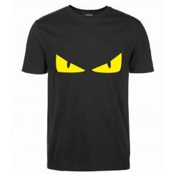 2017 Summer novelty Monster devil's Eye Men Fashion Cotton T-Shirts streetwear funny Tee tops pp brand clothing fitness T Shirt