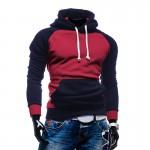 2017 Winter spring Hooded Men's Urban fashion Hooded Jacket Brand Fashion Men Popular Casual Hooded Sweatshirt Sportswear