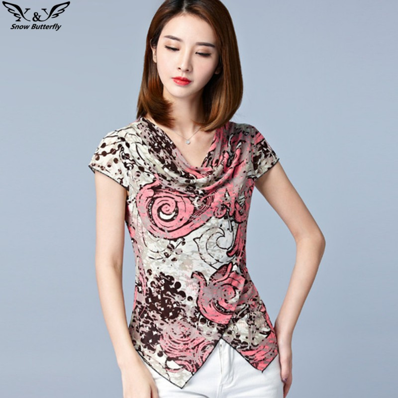 2017 High Quality Women Top Kimono Blouses Shirts Chiffon