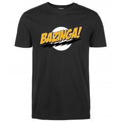2017 men summer short sleeve tops Fashion streetwear  t shirt Bazinga streetwear T-Shirt crossfit brand clothing