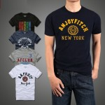 2017 new t-shirt 100% cotton t shirt men European and American style tees