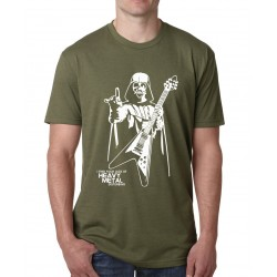 2017 summer Darth Vader Heavy Metal t-shirt men cotton Creative Star War fitness brand clothing male harajuku hip-hop camisetas