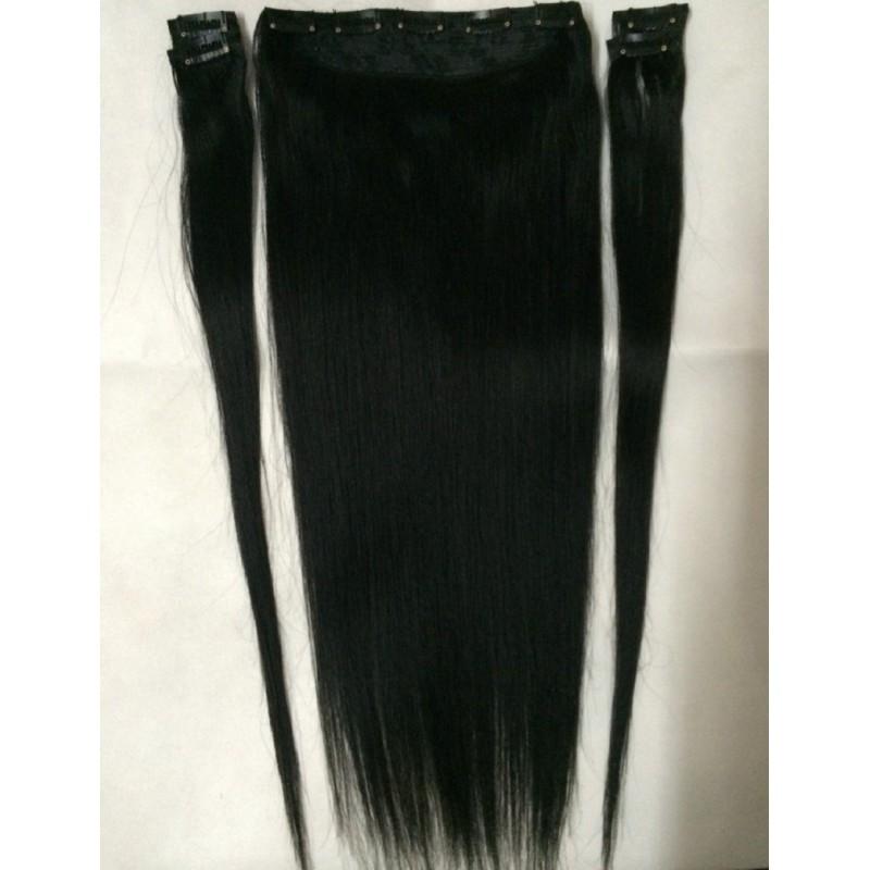 22 Colors 16 28 100 Brazilian Bemy Human Hair Clips Inon Hair