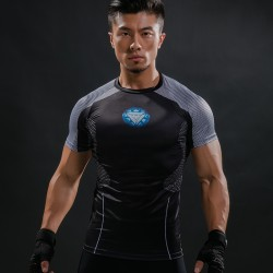 3D Printed T-shirts Men Iron Man Hottoys T Shirt Captain America Civil War Tee 2017 Avengers Fitness Male joges Crossfit Tops