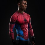 3D Printed T-shirts Raglan Long Sleeve Compression Shirts Men 2016 Clothing Tops Male Cosplay Costumes For Men 2017 Spring