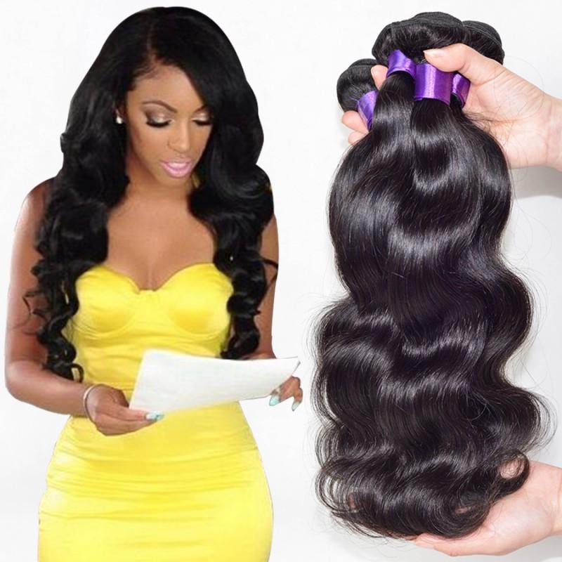 7a Peruvian Virgin Hair Body Wave 3 Bundles Peruvian Body Wave