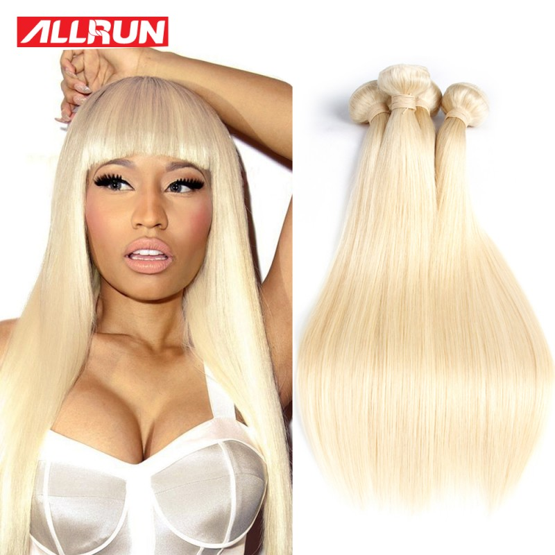 7a Quality 613 Blonde Virgin Hair Straight 4 Bundles Blonde