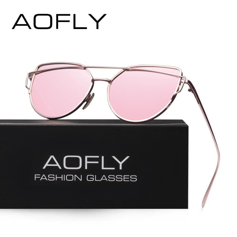 5db30bbdc9 AOFLY Fashion Sunglasses Women Popular Brand Design Polarized ...