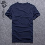 Abeillevie New Mens Tshirt Fashion Cotton T shirt for Men High Quality Big Tall Crew Tees Brand Clothing homme camisetas 8566D