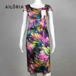 Ailoria 2017 Summer Square Collar Wear To Work Business Dresses Women Plaid Pencil Dresses Bodycon Dresses For Women Vestidos